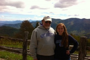 Joe Murphey and daughter Audra