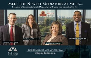 Miles Mediation new mediators