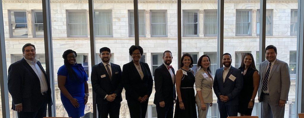 Bianca Motley Broom mentors latino law students