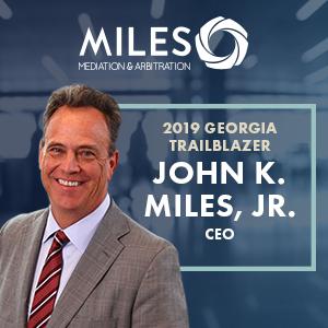 John Miles Named Legal Trailblazer